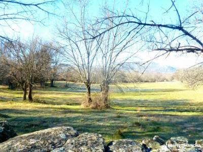 Cañadas, molinos del Río Perales; visitas guiadas madrid mapa senderismo